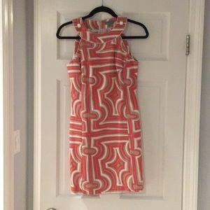 Tibi Pam Beach print dress.